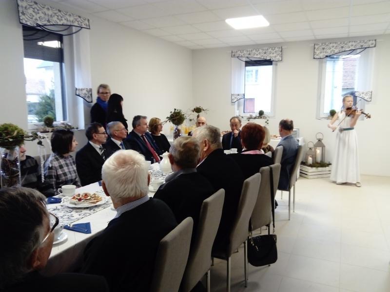 Otwarcie Klubu Seniora w Dąbrowie